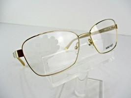 Nine West NW 1063 (717) Gold 54 x 16 135 mm Eyeglass Frames - $65.41
