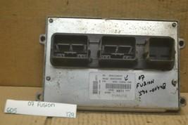 07 Ford Fusion 2.3L MT Engine Control Unit ECU 6E5A12A650AHB Module 129-6D5 - $26.99