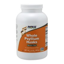 Psyllium Husk, WHOLE, 12 Oz  by Now Foods - $5.84