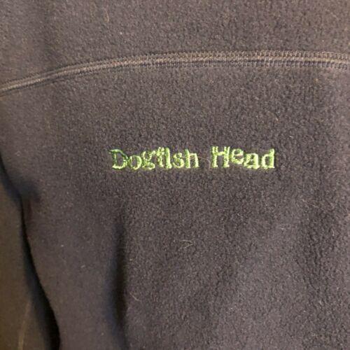 Men's Dogfish Head Craft Brewing Patagonia Full Zip Long Sleeve Fleece Navy XL