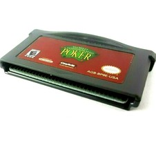 World Championship Poker Cartridge Only for Gameboy Advance No Box Works - $4.79