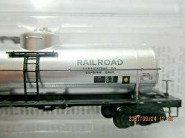 Micro-Trains # 06500256 Alaska Railroad 39' Single Dome Tank Car N-Scale image 3
