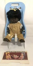 """EG Dolly Golberger African American 3 in 1 Dolly in baby seat - With bottle 10"""" - $42.06"""