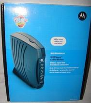 Motorola SURFboard Cable Modem SB5101 (SB515290-087-00) 38 Mbps - $12.19
