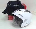AFX Helmets FX-50 Open Face Motorcycle Scooter Helmet Pearl White Medium