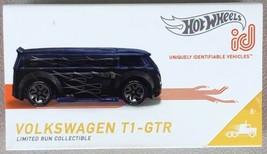 Hot Wheels ID Series 2 Blue VW VOLKSWAGEN T1-GTR Limited Production - FR... - $13.95