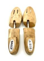 Bally Size S Cedar Wood Spring Loaded Men's Shoe Tree Stretcher Keeper GUC - $8.42