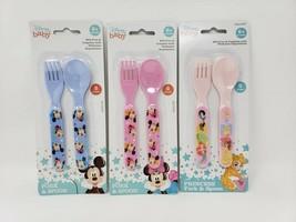 Disney Baby Fork & Spoon Set - New - $8.99