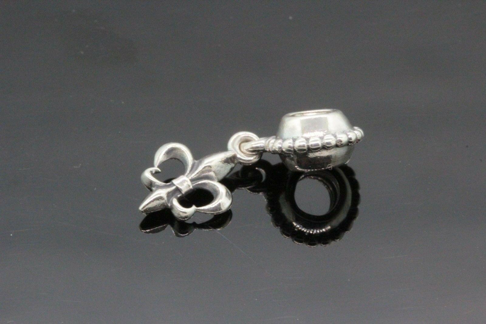 Women's Pandora Sterling Silver Unique Hanging Charm 2.3g #31977