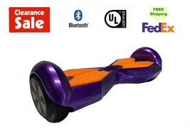 "Lambo Hoverboard Bluetooth Speaker Self Balance Scooter 6.5""Purple Free ... - $99.00"