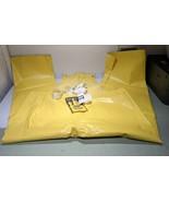 Norton Waterproof Bib Pants Mens Large Yellow Protective Clothing 51-325... - $19.59