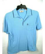Mens-Original Penguin Shirt by Munsing Wear - Blue-Med- Classic fit - $29.65