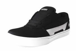 Etnies Negro/Blanco/Negro Rct con Cordones 10C Ee. Uu. Niño Zapatillas Skate Nib