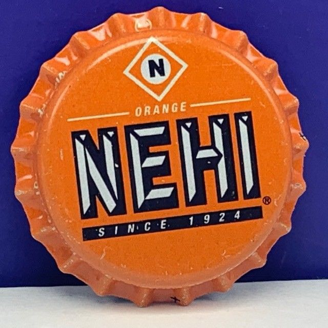 Primary image for Soda pop bottle cap vintage advertising drink Nehi North Carolina NC orange us 2