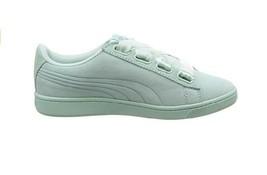 Puma Womens Vikky V2 Ribbon V2 S Shoes Fair Aqua Silver Blue Size UK 7.5 - $58.69