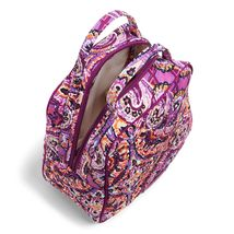 Vera Bradley Quilted Signature Cotton Iconic Lunch Bunch Bag, Dream Tapestry image 3