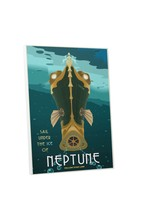 Under The Ice of Neptune by Steve Thomas Gallery Wrapped Canvas Wall Art - $44.50+
