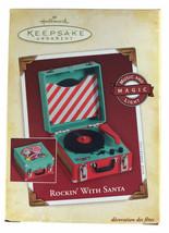 Rockin' With Santa 2005 Hallmark Keepsake Christmas Ornament - $49.48