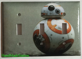 Star Wars BB8 BB-8 Light Switch Power Duplex Outlet Wall Plate Cover Home decor image 6