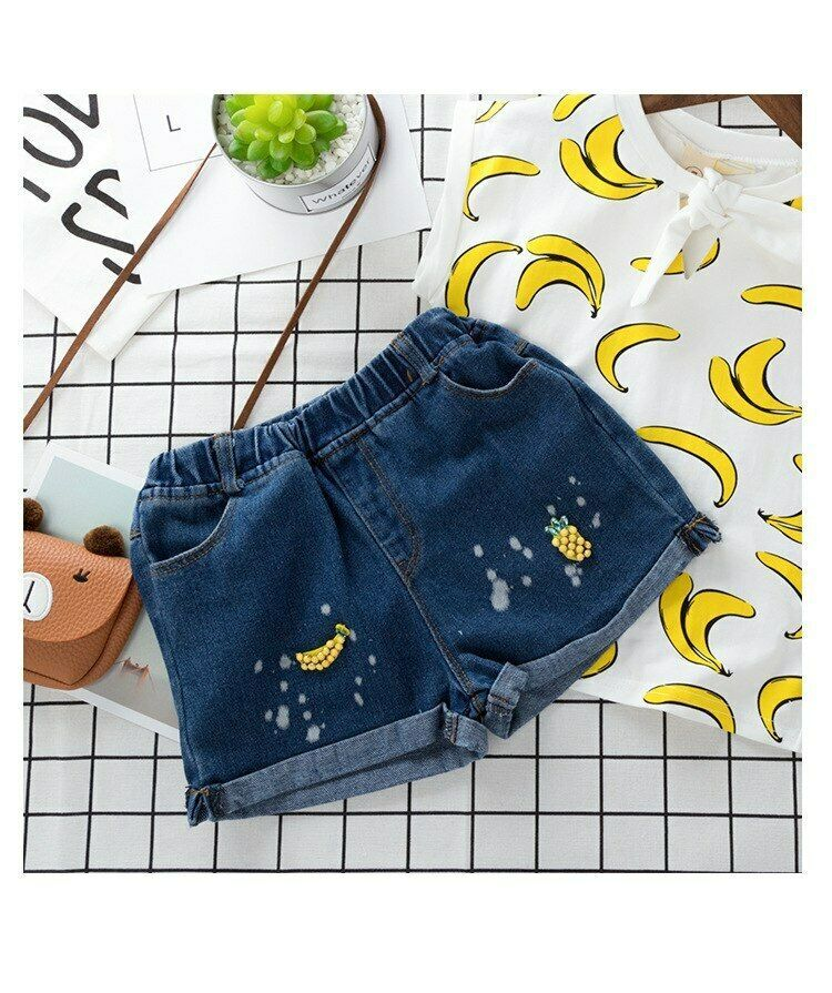Children Clothing 2019 Summer Toddler Girls Clothes 2pcs Outfits Kids Clothes