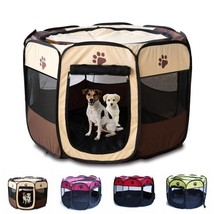 Pet House Cage Foldable Dog Cat Play Room Puppy Outdoor Pet Accessories ... - $41.87