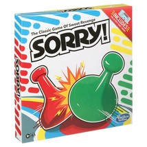 NEW SEALED Hasbro Sorry! Board Game Walmart Exclusive w/ Activity Sheet - $14.89