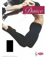 Ladies Jym Dance Tights Womens Footless Yoga Jogging Size UK S M L NEW - $7.76