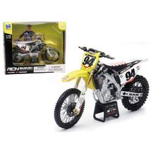 Suzuki RM-Z 450 #94 Ken Roczen Motorcycle Model 1/12 by New Ray NR57747 - $34.31