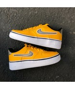 NIKE AIR FORCE 1 LV8 SPORTS GS KID'S UNIVERSITY GOLD ATHLETIC SNEAKER BV... - $99.99