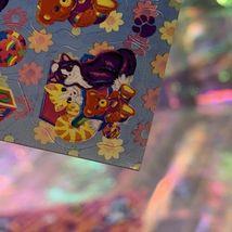 LEGIT VINTAGE Lisa Frank Sticker Sheet S722 Kitties & Teddy Bears & Blocks image 7