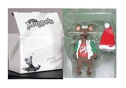 Muppets Exclusive Holiday Rizzo the Rat Figure - Collectors Club Version, Muppet