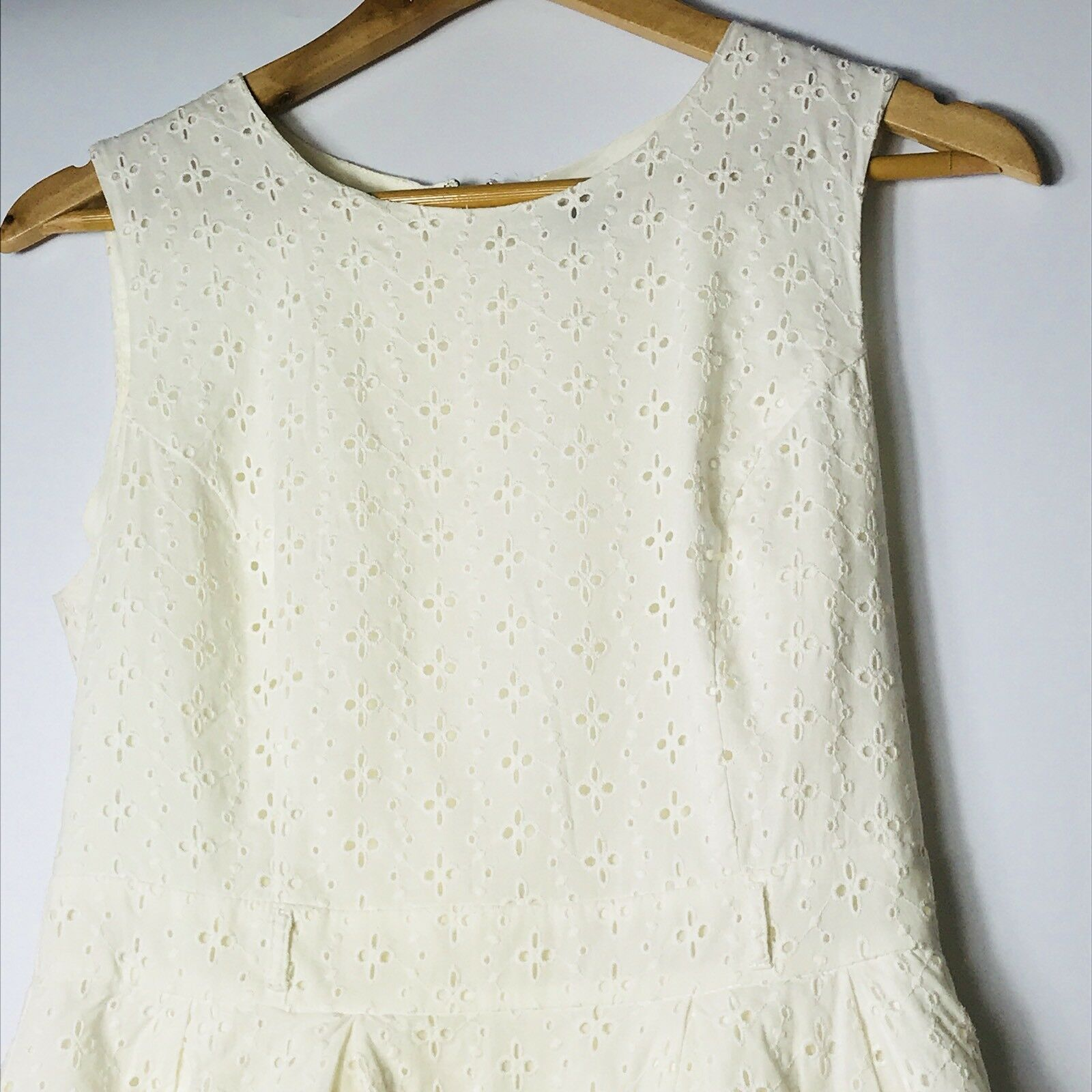 Forever 21 Women Size Medium Ivory Fit and Fare A-line Dress  image 6