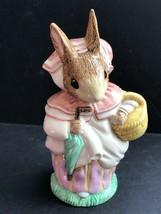 Royal Albert Mrs Rabbit Beatrix Potter Large Figurine, 1993 - $24.75