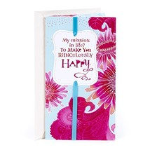 """Hallmark Love Greeting Card (Ridiculously Happy) 4.5"""" wide and 8.3"""" long - $5.60"""