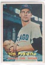 1957 Topps #235 Tom Poholsky  Chicago Cubs  - $11.87
