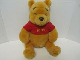 """Winnie the Pooh Exclusive Authentic Original Disney Store 15"""" Plush Tedd... - $9.16"""