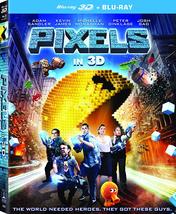 Pixels (3D + Blu-ray)