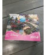 Disney Thomas Kinkade Cinderella Puzzle 300 Oversized Pieces USA Ages 10+ - $15.19