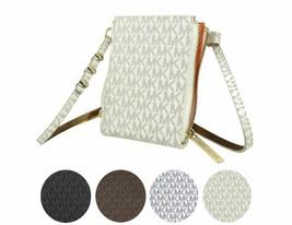 Michael Kors Women's MK Logo PVC Leather Purse Belt Fanny Pack Bag 552500