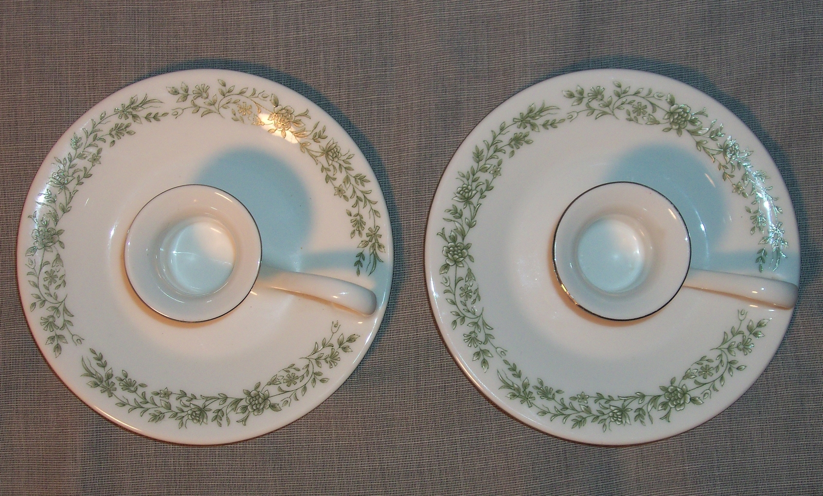 2 Mikasa Montclair Floral Pattern G9059  Candle Holders