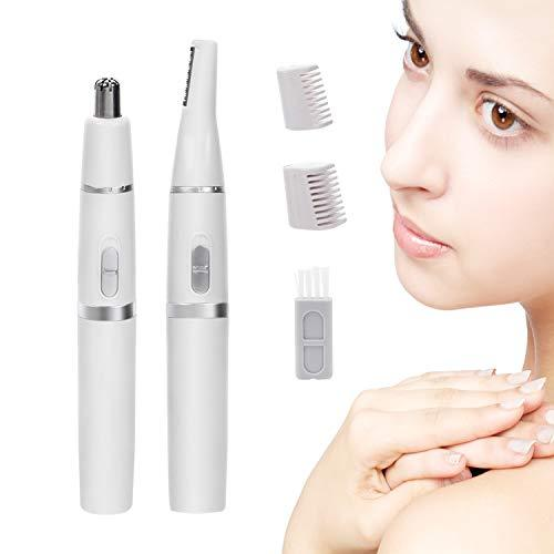 Nose Hair Trimmer for Men Women Painless Electric Ear and Nose Hair Trimmer for