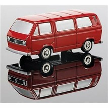 Schuco Piccolo Series SCHU 05120 Model Van VW T3 Red Japan Import - $26.12