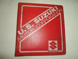 1987 Suzuki LS650 Service Manual W/SUPP Binder 2 Vol Set Stained Factory Oem 87 - $59.61