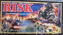 Risk 1993 Board Game with Army Shaped Miniatures - $14.85