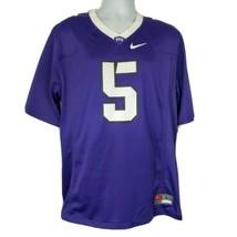 TCU Horned Frogs Nike College Football Jersey Sz L Purple 5 LaDainian To... - $98.99