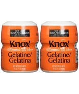 Knox Gelatine 2-16oz Plastic Container Unflavored - $24.49