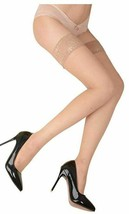 Berkshire NUDE SheerInvisible Toe Lace Top Thigh Highs, 2-pack, Size Que... - $9.85