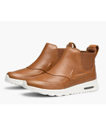 Nike Air Max Thea Mid Sneakerboot Shoes Women Boots 859550 Ale Brown Size 11.5 - $149.99