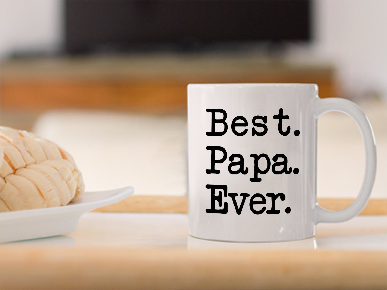 Funny Mug-Best. Papa. Ever-Best Gifts for Father Dad-11 oz Coffee Mug
