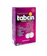 Tabcin Cold & Cough✅ 60 Efervescent / Gripe Y Tos Tabletas Efervescentes - $30.99